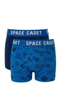 C&A   boxershort (set van 2), Blauw