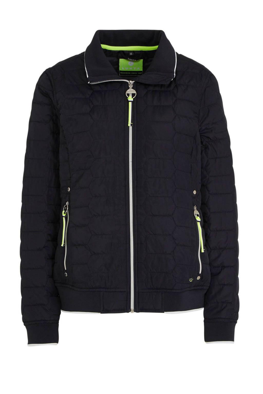Luhta Annikkala outdoor jas donkerblauw, Donkerblauw