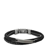 Fossil Vintage Casual Heren Armband JF03185793, gunmetal