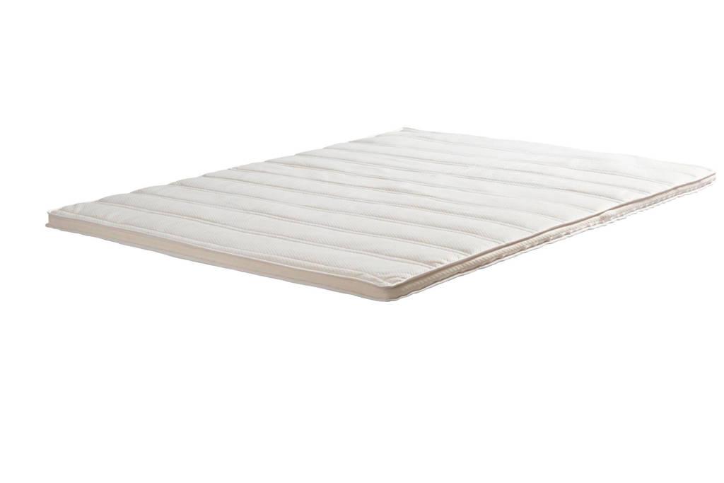 Wehkamp Home latex topmatras Comfort (160x210 cm), Wit
