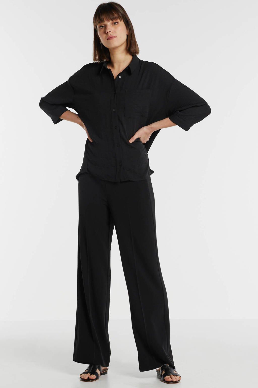 Modström blouse Alexis zwart, Zwart