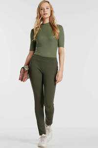 Modström skinny broek groen, Groen