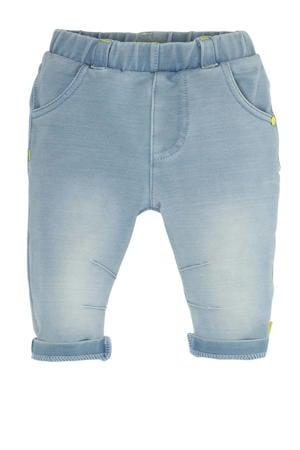 B.E.S.S baby slim fit jeans light denim