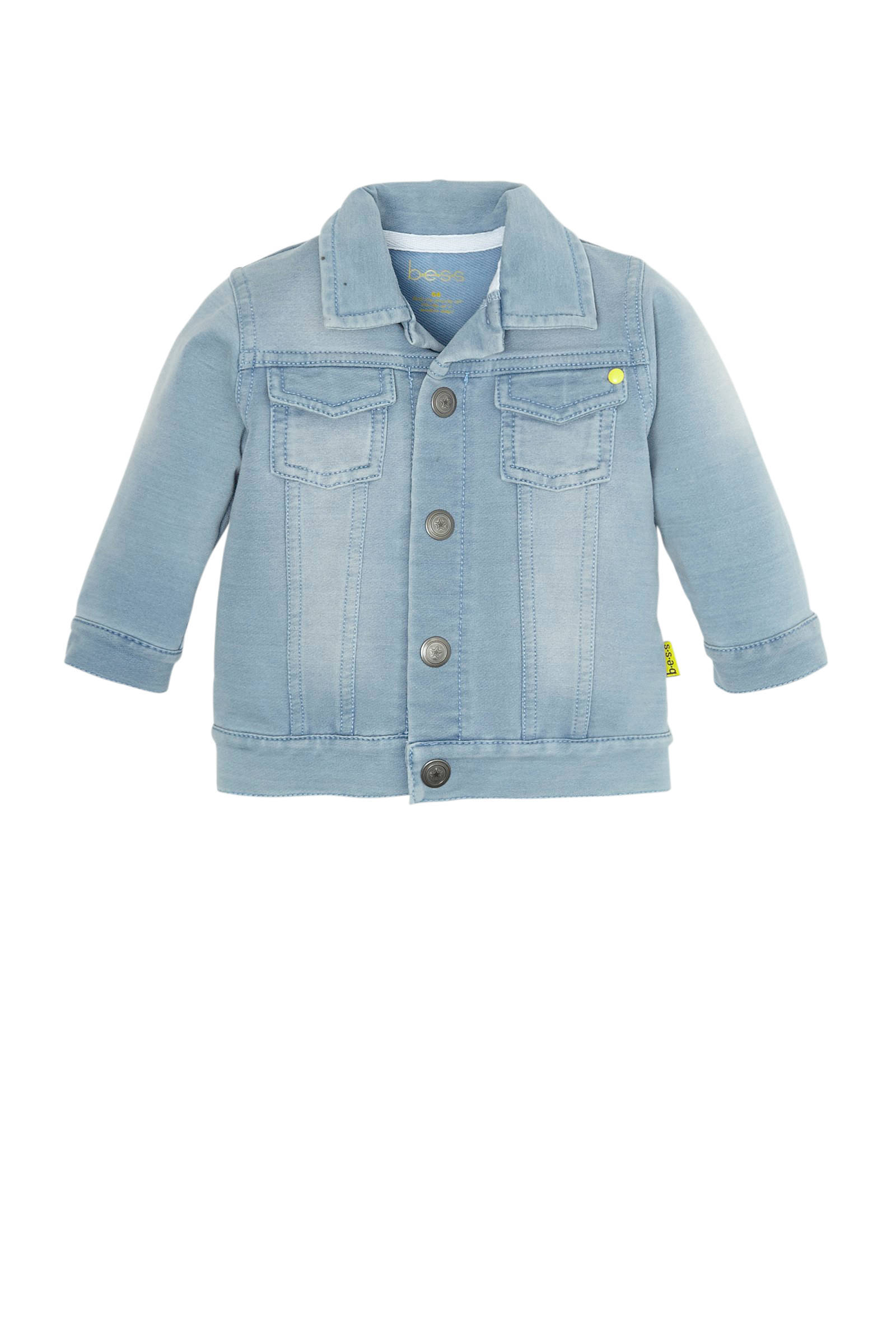 B.E.S.S baby spijkerjas light denim