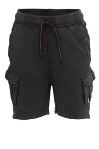 Tumble 'n Dry Mid regular fit cargo short Walsh antraciet, Antraciet