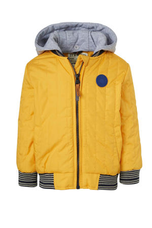 zomerjas Taff geel/zwart/grijs