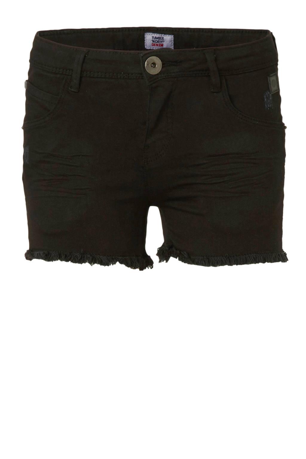 Tumble 'n Dry Hi skinny short Sabijn zwart, Zwart