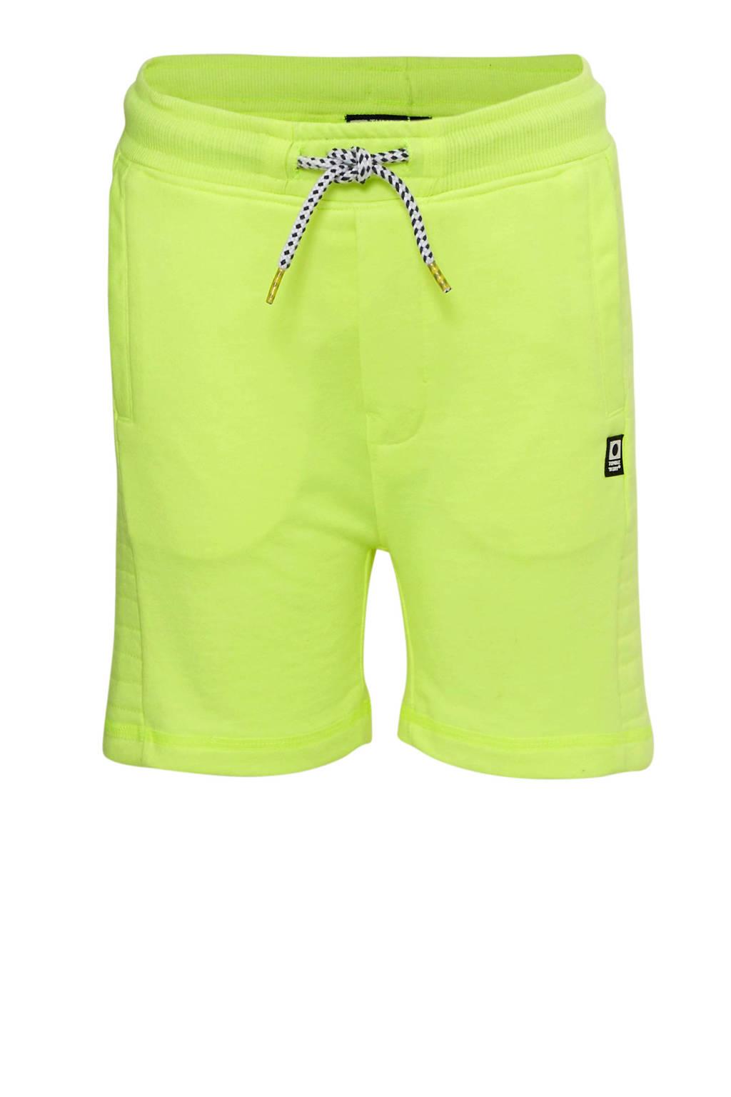 Tumble 'n Dry Mid regular fit short Galdo neon geel, Neon geel
