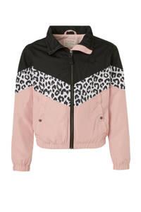 Tumble 'n Dry Hi zomerjas Stacey lichtroze/zwart/wit, Lichtroze/zwart/wit