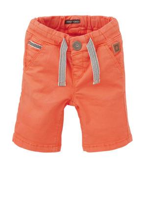 slim fit short Thiaz oranje