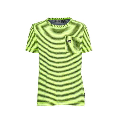 Tumble 'n Dry Mid gestreept regular fit T-shirt Gi