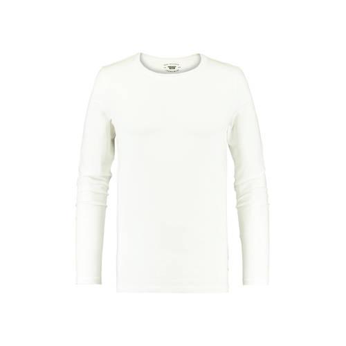 America Today T-shirt met biologisch katoen wit