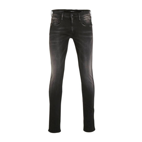 REPLAY slim fit jeans black