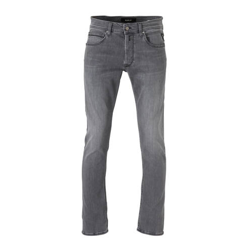 REPLAY straight fit jeans Grover light grey