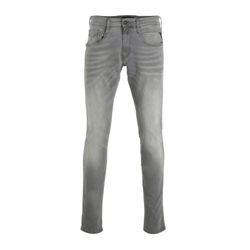 REPLAY slim fit jeans grijs