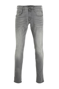 REPLAY slim fit jeans Anbass grijs, Grijs