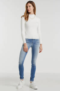 REPLAY skinny jeans NEW LUZ blauw, Blauw