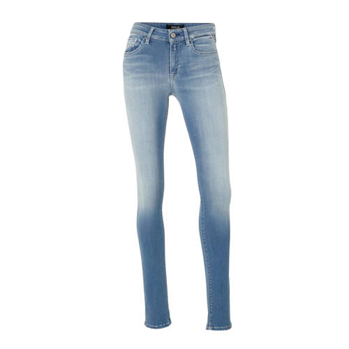 REPLAY skinny jeans NEW LUZ blauw