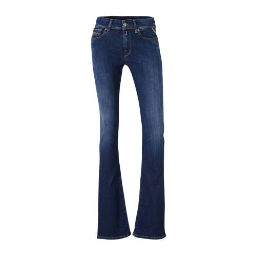 REPLAY bootcut jeans LUZ BOOTCUT donkerblauw