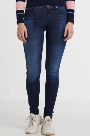 skinny jeans Hyperflex donkerblauw