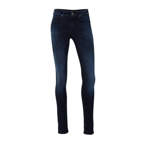 REPLAY skinny jeans Hyperflex donkerblauw