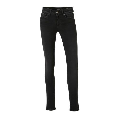 REPLAY skinny jeans NEW LUZ zwart