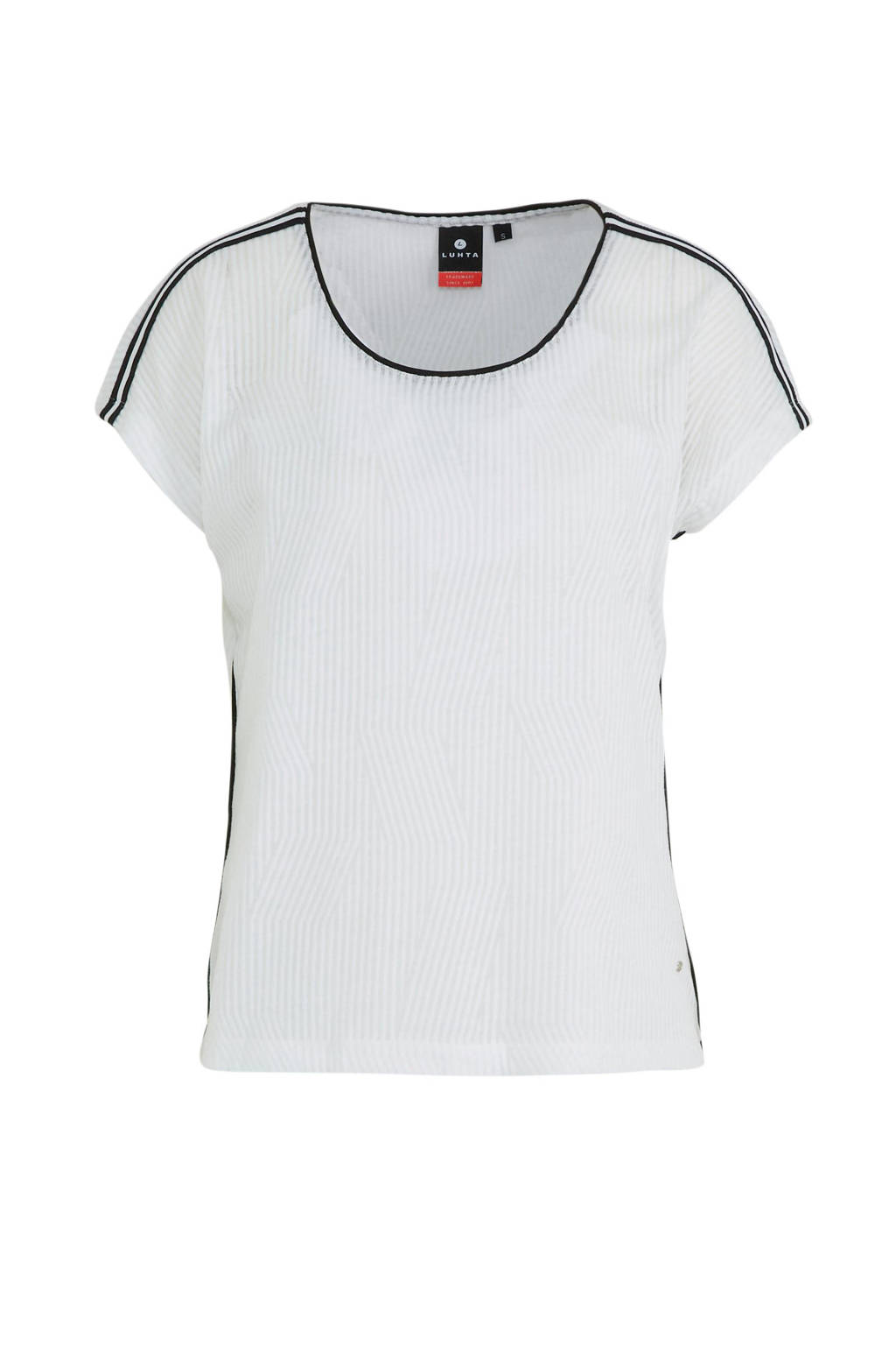Luhta T-shirt Askais wit, Wit