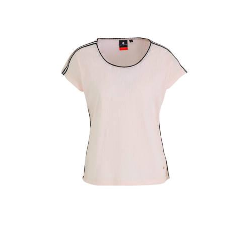 Luhta T-shirt Askais lichtroze