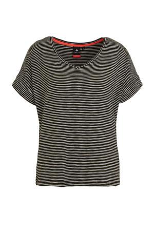 T-shirt Askala zwart