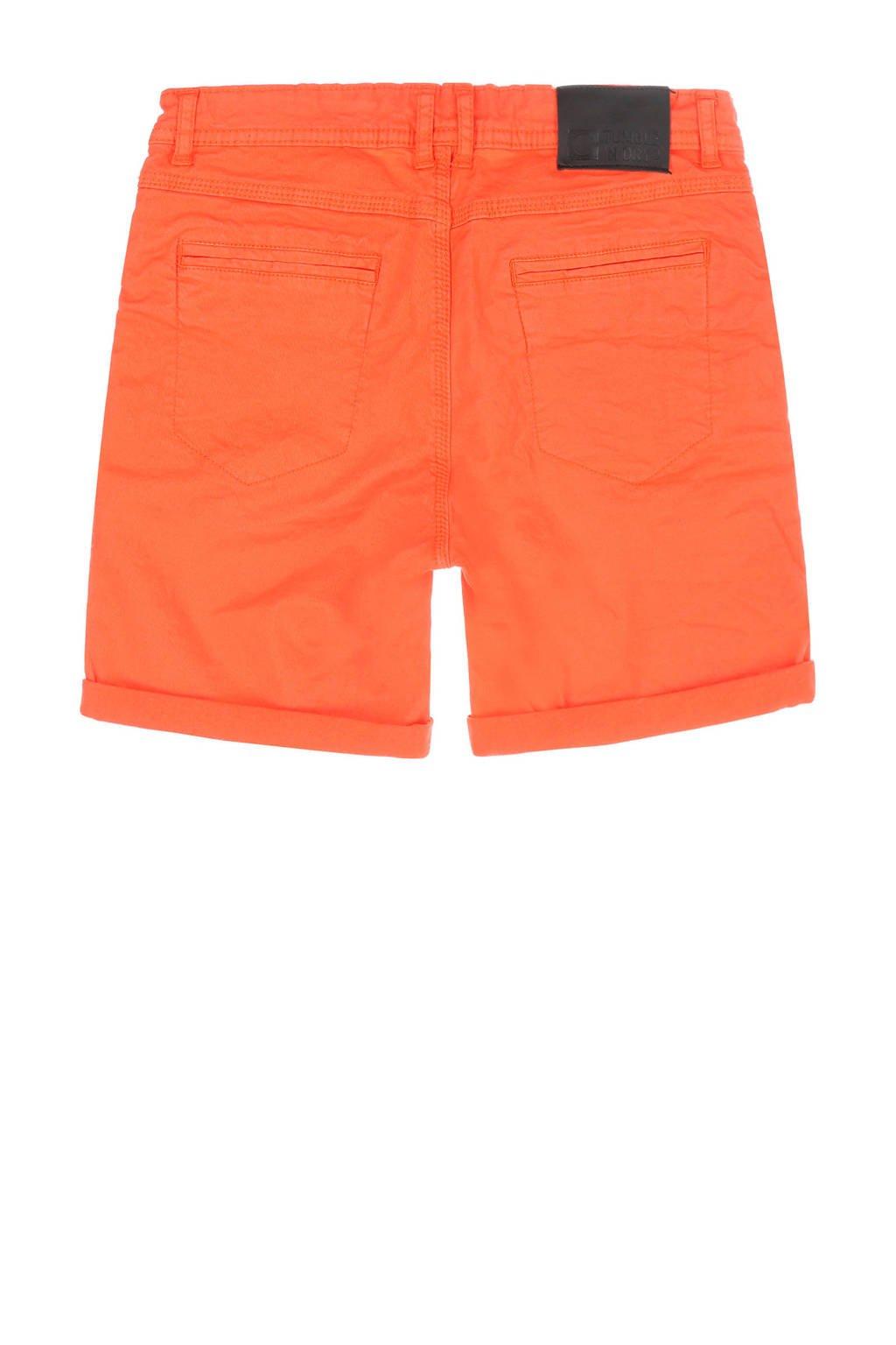 Tumble 'n Dry Mid slim fit short Granson beige, Oranje