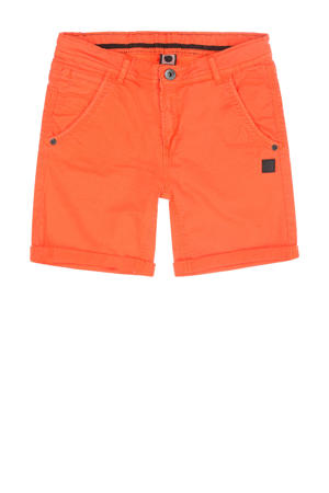 slim fit short Granson oranje