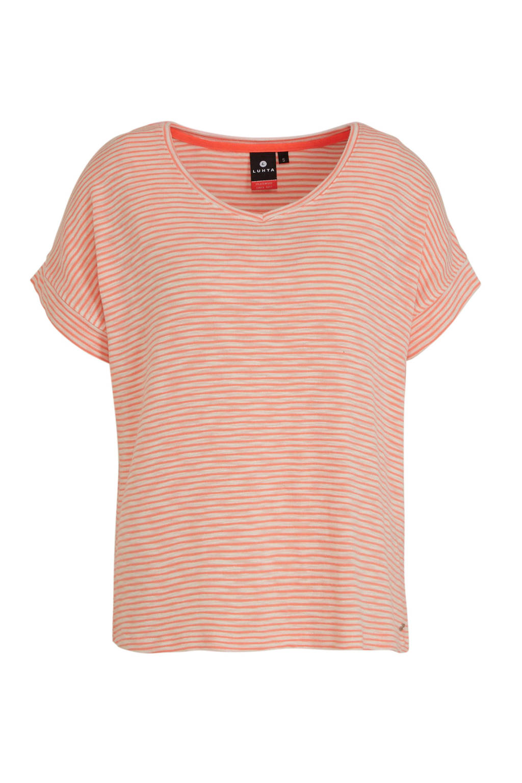 Luhta T-shirt Askala roze, Roze