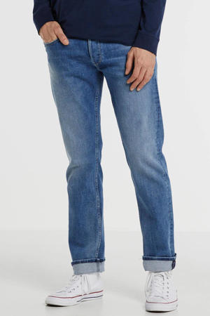 straight fit jeans Grover mid blue