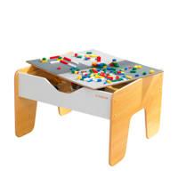 KidKraft 2-in-1 Activity tafel met dubbelzijdig tafelblad, Wit