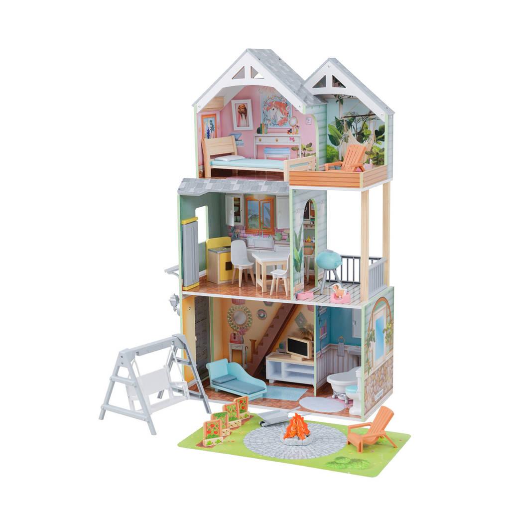 KidKraft houten poppenhuis Hallie