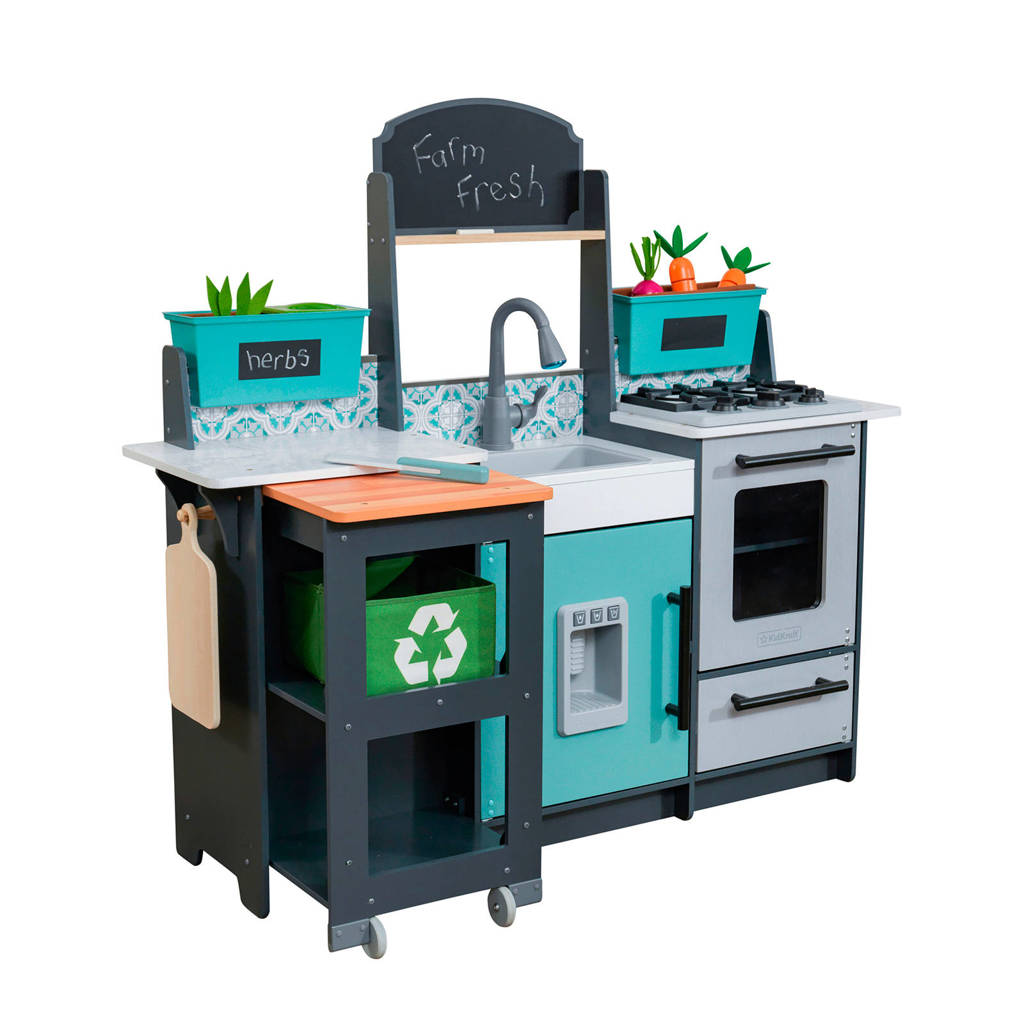 KidKraft houten Garden Gourmet speelkeuken met EZ Kraft Assembly
