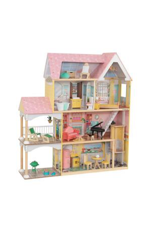 houten Lola Mansion poppenhuis met EZ Kraft Assembly