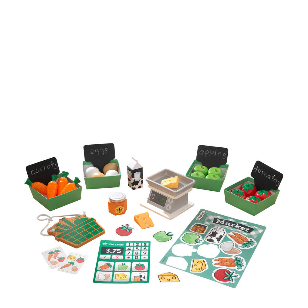 KidKraft  Boerenmarkt speelgoedpakket