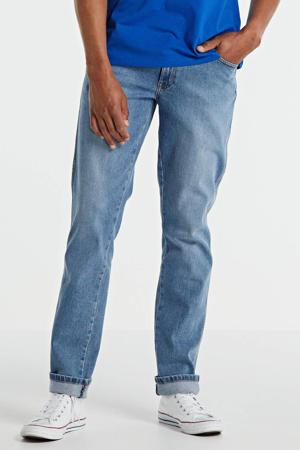 Texas slim fit jeans blauw