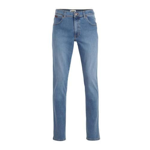 Wrangler Texas slim fit jeans blauw