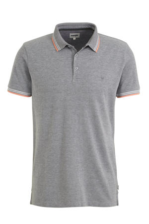 regular fit polo cold grey