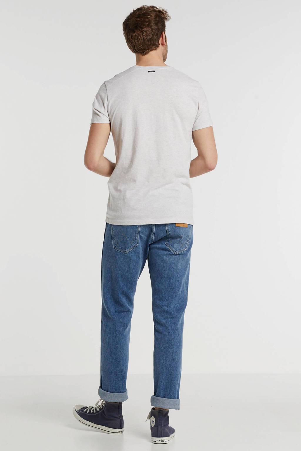 Wrangler straight fit jeans Greensboro blue stones, Blue Stones