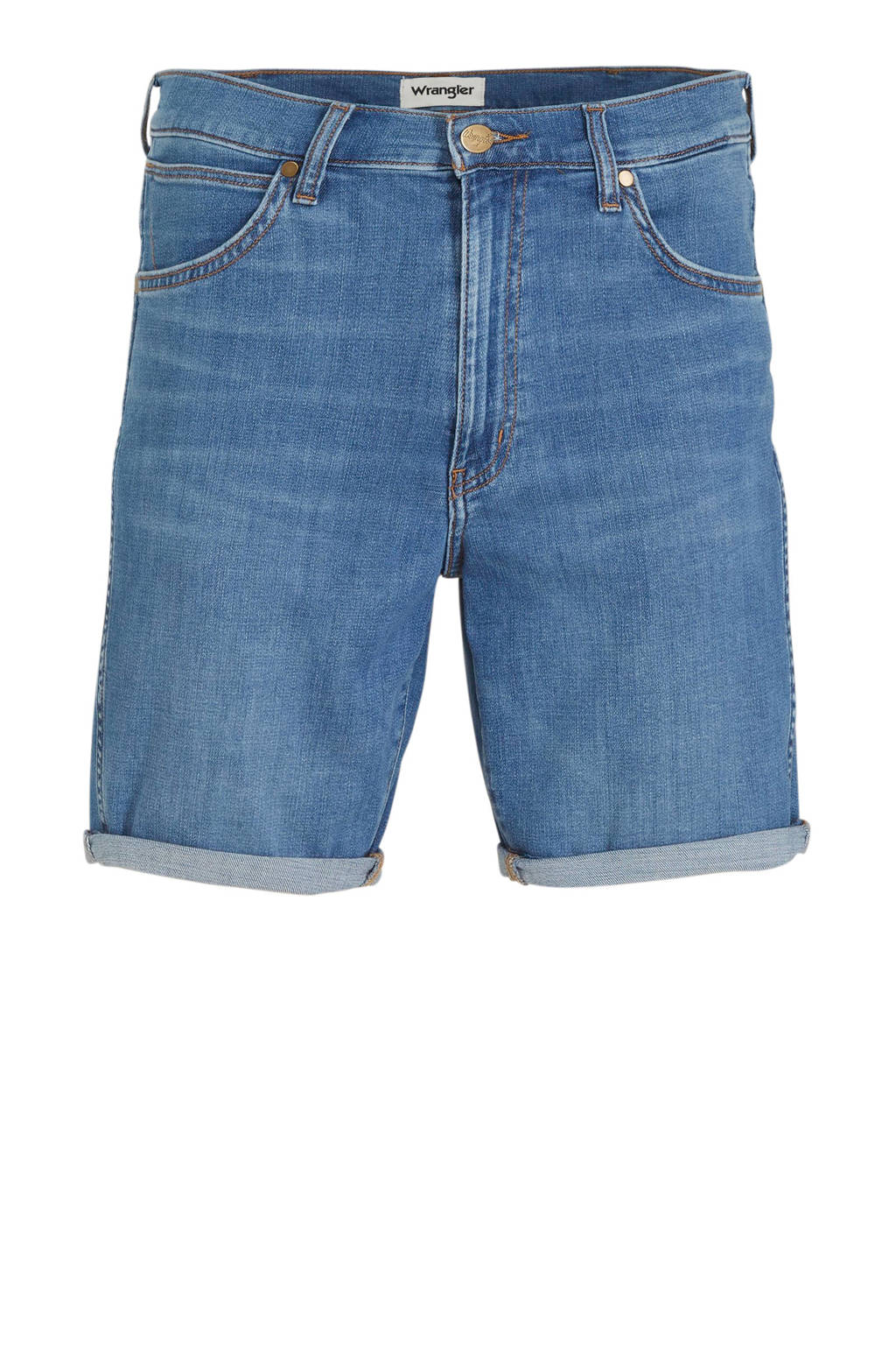 Wrangler slim fit jeans short light denim, Light denim