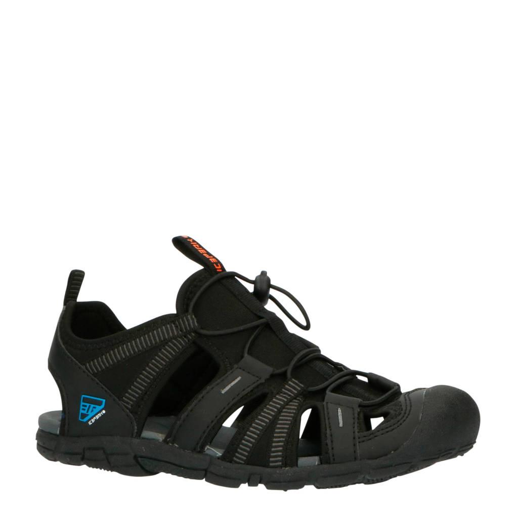 Icepeak Aksu Jr outdoor sandalen zwart kids, Zwart, Jongens/meisjes