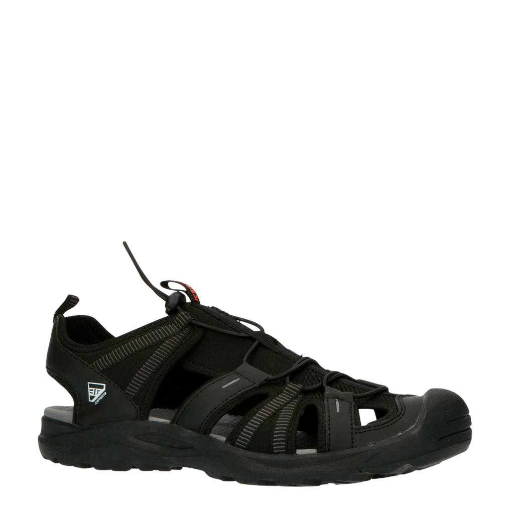 Icepeak Aksu Mr outdoor sandalen zwart, Zwart, Heren