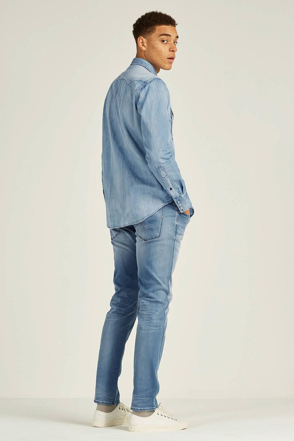 REPLAY slim fit jeans Anbass Hyperflex light blue, Light Blue