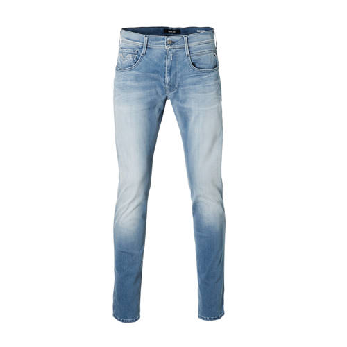 REPLAY slim fit jeans Anbass Hyperflex light blue
