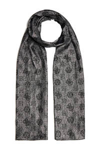 GUESS sjaal zwart, Zwart