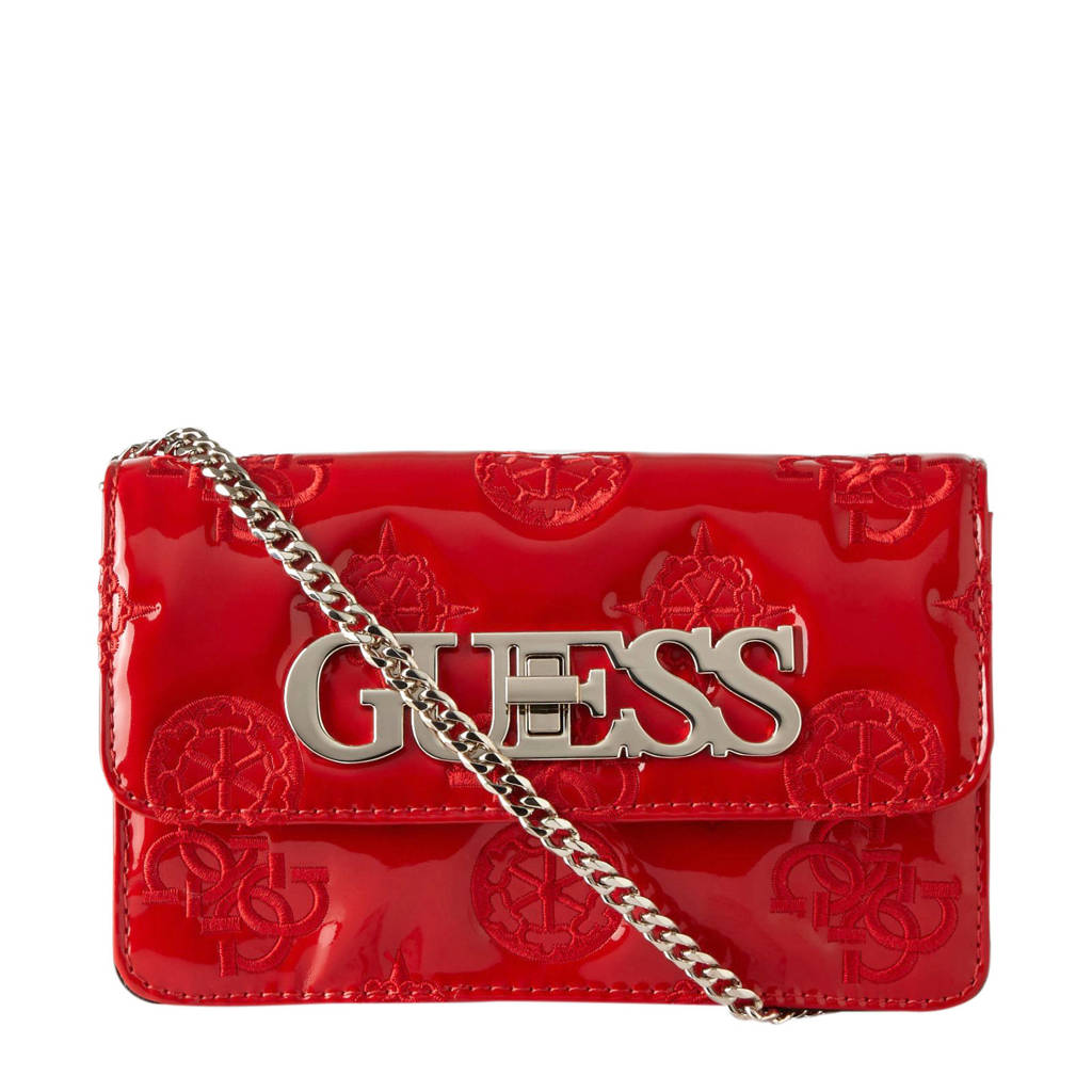 GUESS   crossbody tas GUESS CHIC MINI rood, Rood