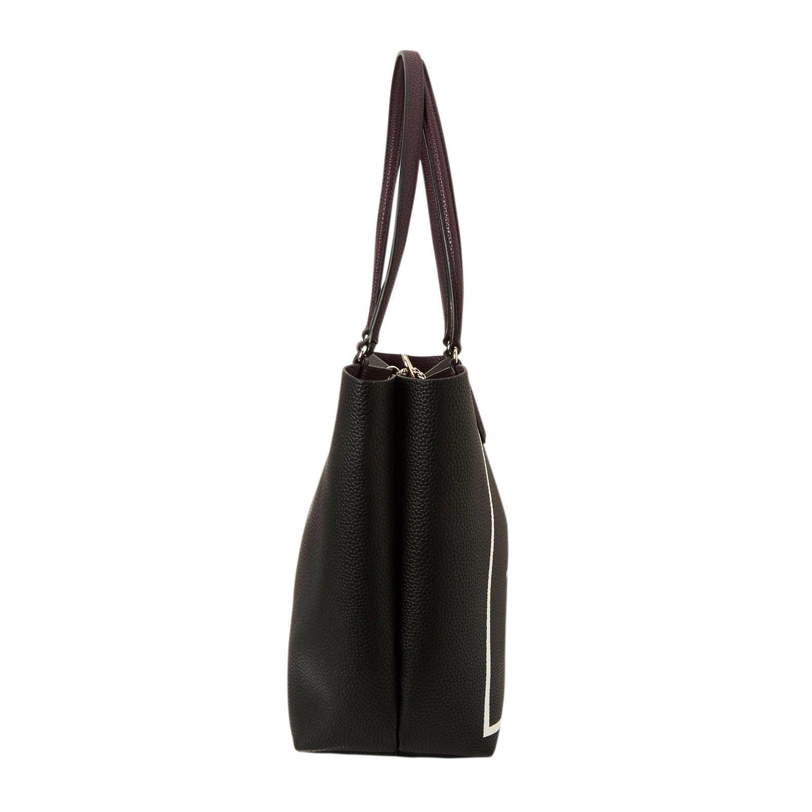 bag in bag handtas ALBY TOGGLE zwart